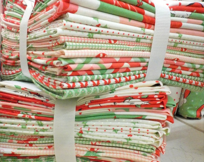 Swell Christmas Fat Quarter Bundle by Urban Chiks for Moda Fabrics