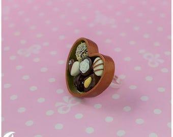Box of Chocolate ring