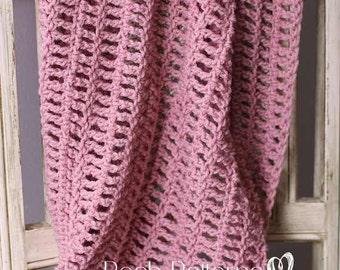 Crochet Baby Blanket Pattern - Crochet Pattern - Crochet Blanket Pattern - Baby Blanket Crochet Pattern - Afghan Crochet Pattern - PDF 409