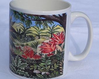 Mug 2. Landscape. Ceramic mug, tea mug, coffee mug, home gift