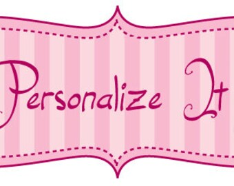 ADD ON - Personalize your order