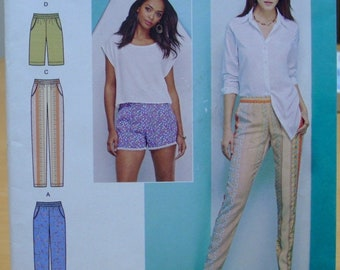 Simplicity 1165 Easy to sew pants and shorts for women 14 16 18 20 22 UNCUT