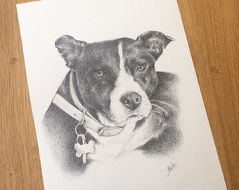 Dog/ pet portraits print