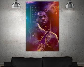 Lebron James Shine Poster or Canvas