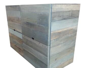 Reclaimed Wood Dresser, Farmhouse, Rustic, Modern, Furniture