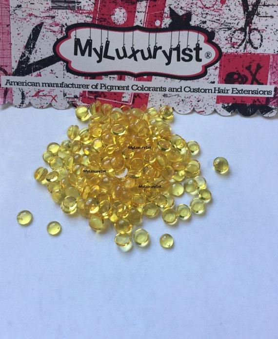Golden Keratin Glue Beads U Tip Fusion Hair Diy I And Nail Tip