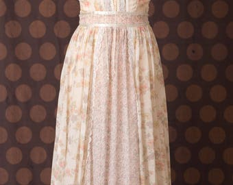 Jessica McClintock Gunne Sax Boho Dress