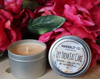 Let Them Eat Cake | 4oz soy candle