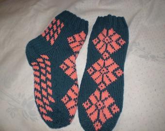 Women socks green