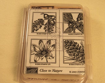 Stampin Up Close to Nature- FREE SHIPPING INCLUDED