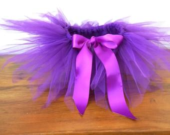 Newborn Tutu - Purple Tutu - Newborn Tutu - 3 Month Tutu - 6 Month Tutu - 12 Month Tutu