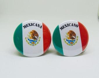 Mexicano/Mexicana pins (latinx pins, mexico pins)