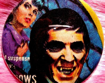 Dark Shadows - Pocket Mirror - Vampire - Barnabas Collins
