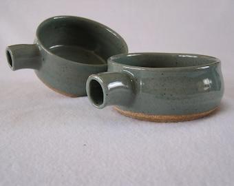 Bowls (set of 4) - Grey soup bowls