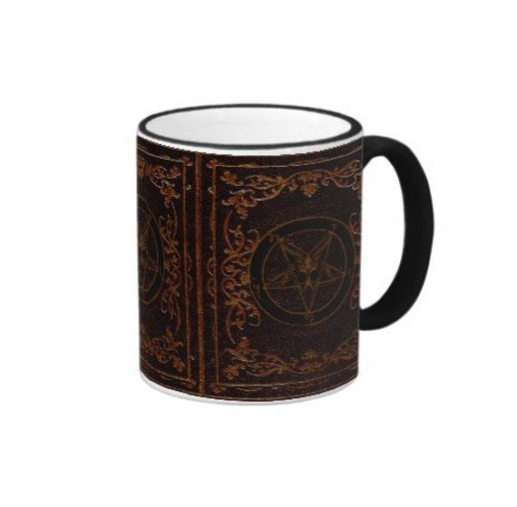 Baphomet Grimoire coffee or tea mug