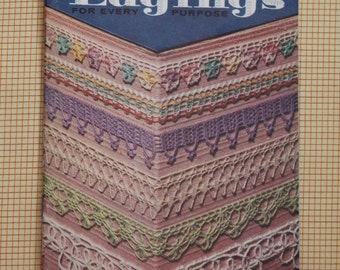 Vintage Coats and Clark's Pattern Booklet 105 Edgings