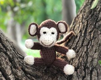 Monkey amigurumi, crochet monkey