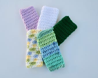 Soap Saver Bags, 100% Cotton Yarn~Soap Saver Pouch~