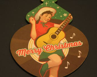 Rare Nashville Country Cutie Holiday or Office Ornament