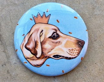 "2.25"" Button! // Hotdog King!"