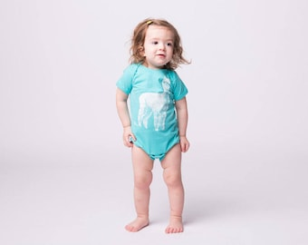 Baby One Piece - Alpaca - Llama Bodysuit - Baby Shower Gift - New Baby - Infant - Baby Clothes