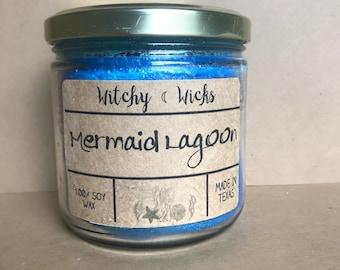 Mermaid Lagoon 100% Soy Wax Candle