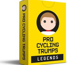 Pro Cycling Trumps LEGENDS Edition