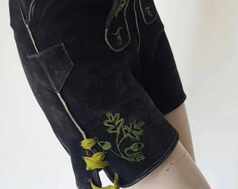 1970s Suede High Wasted Shorts