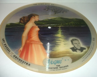2 Sided Vintage Vogue Picture Record R785 The Echo Said No and My Adobe Hacienda