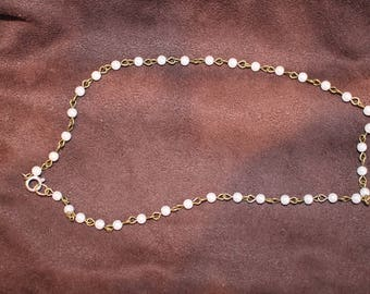 Pearl Rosary Necklace