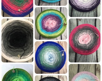 Mystery Gradient Yarn Cake