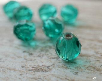 Teal Bliss, Czech Beads, Beads, N1904