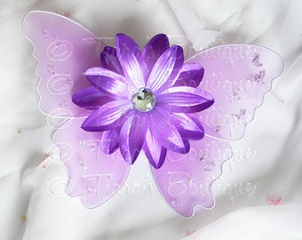 Lavender/ Purple Baby Butterfly Wings - Infant Fairy Wings for Halloween - newborn to 12 months - Photo Prop for Newborn Photography