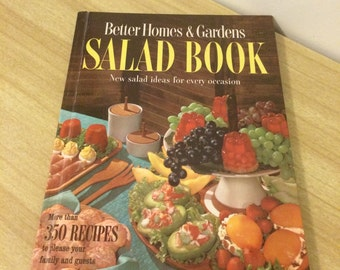 Vintage Mid-Century Better Homes and Gardens Salad Cookbook