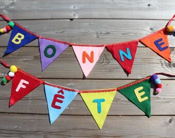 Pennants Happy birthday