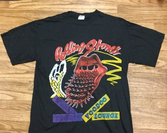 Vintage -AUTHENTIC- The Rolling Stones Voodoo Lounge Concert T Shirt 1994