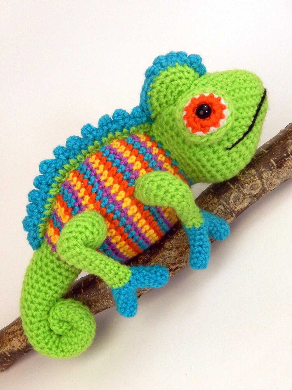 Camelia the Chameleon - Amigurumi Crochet Pattern from ...