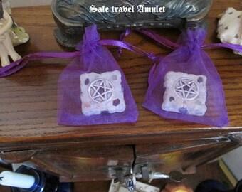 Safe Travel Amulet - Blessed with Sandalwood