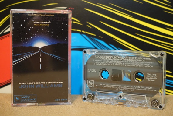 Close Encounters Of The Third Kind (Original Motion Picture Soundtrack) by John Williams Vintage Cassette Tape