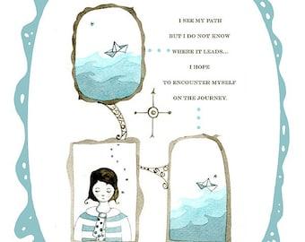 My Path (blue)