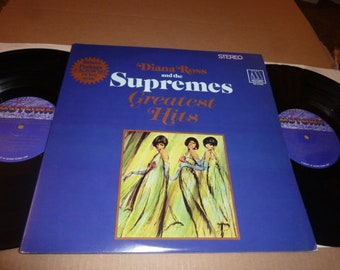 Diana Ross And The Supremes 2 x LP Vinyl Record R&B motown