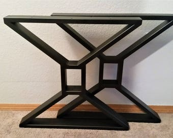Steel table legs Etsy