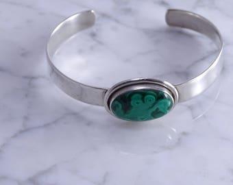 Sterling Silver Cuff Bracelet (k)