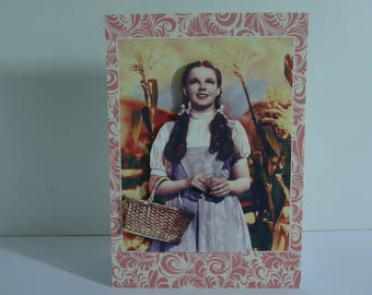 Judy Garland From The Wizard Of OZ Card