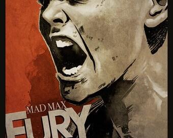 Mad Max: Fury Road FURIOSA movie poster full colour art print