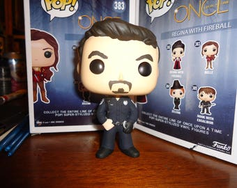 Once Upon a Time Season 7 Captain Hook / Officer Rogers Custom Funko