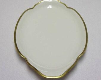 Antique 1903 Theodore Haviland Breton Oval Porcelain Platter, Made in Limoges, France