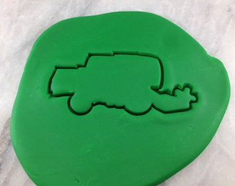 Combine Harvester Cookie Cutter Outline - SHARP EDGES - FAST Shipping - Choose Your Own Size!