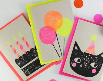 Party Cat Card Set