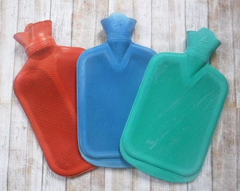 Rubber Hot Water Bottle - Add on to any cover from the shop